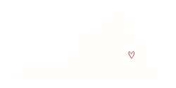 Made with Love in Virginia 500x250